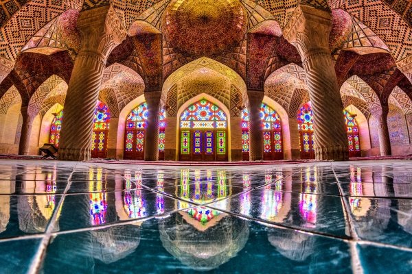 Nasir al-Mulk or Pink mosque , Shiraz